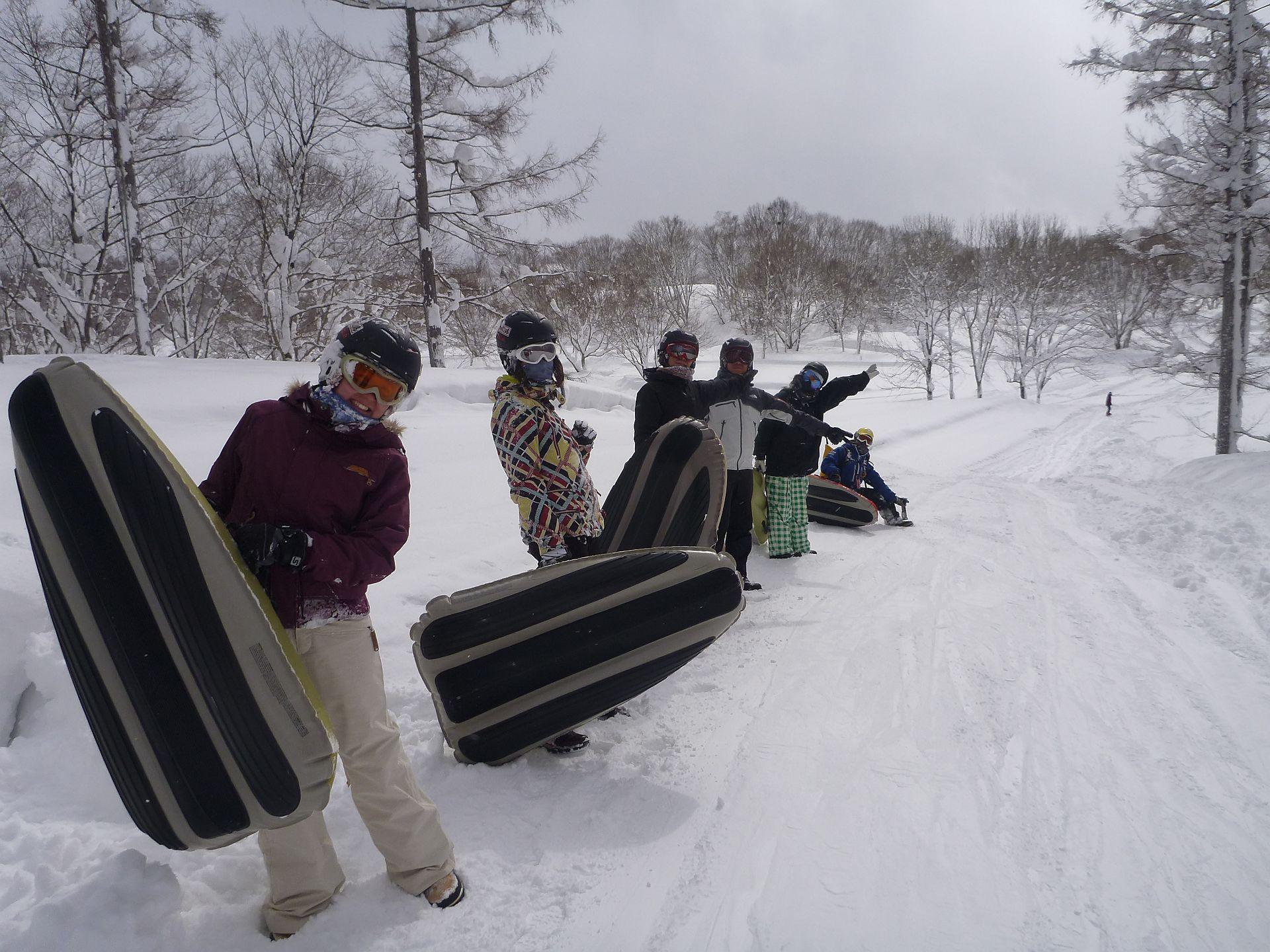 大雪なんて関係ない!!2月15日(日)カッパCLUBツアー