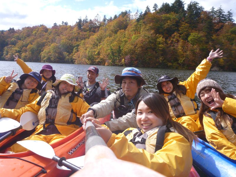 紅葉最高潮!カッパCLUB秋の湖キャンプツアー10月17,18日(土、日)