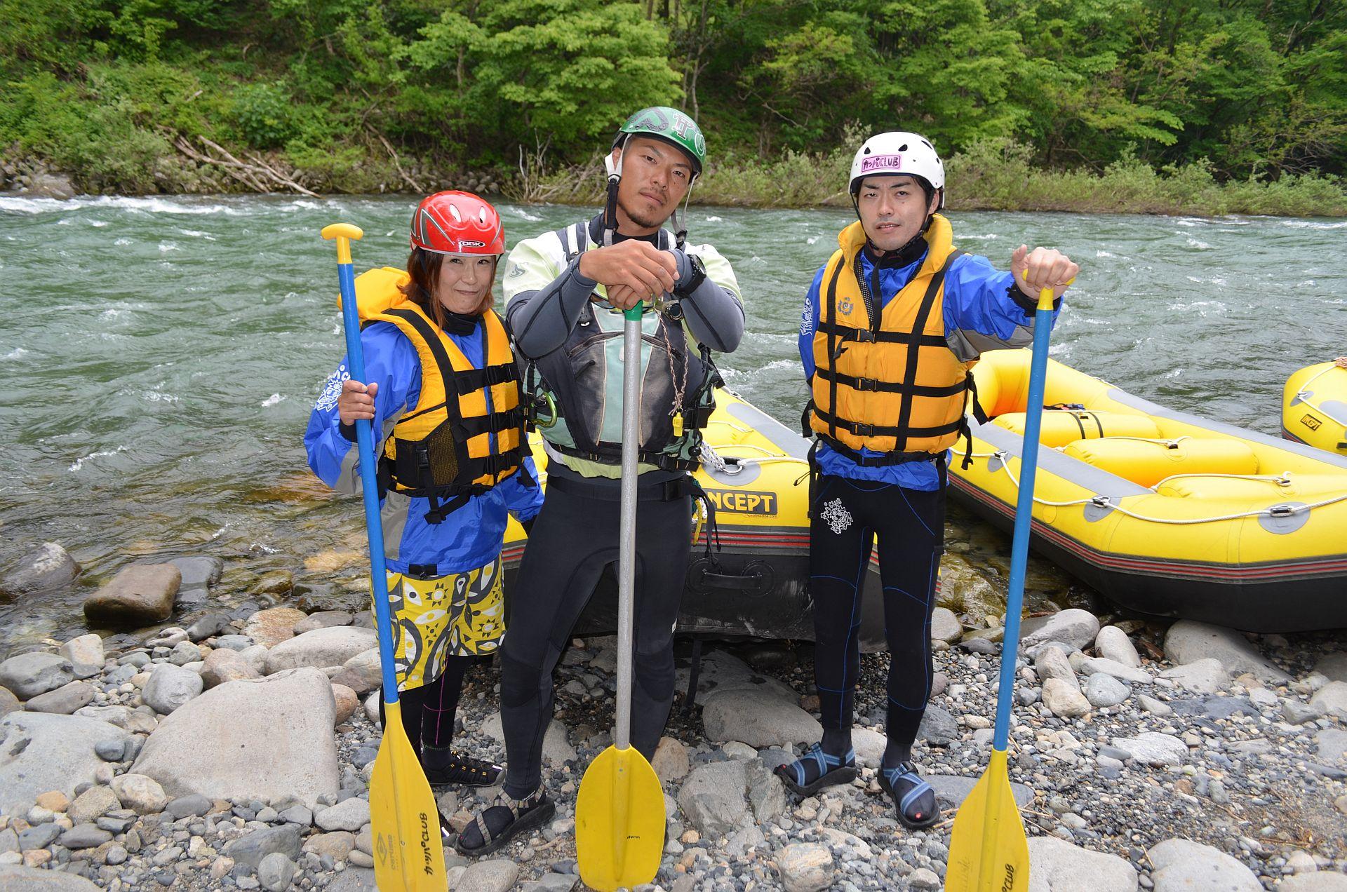 月曜から川遊び!5月18日(月)カッパCLUBツアー