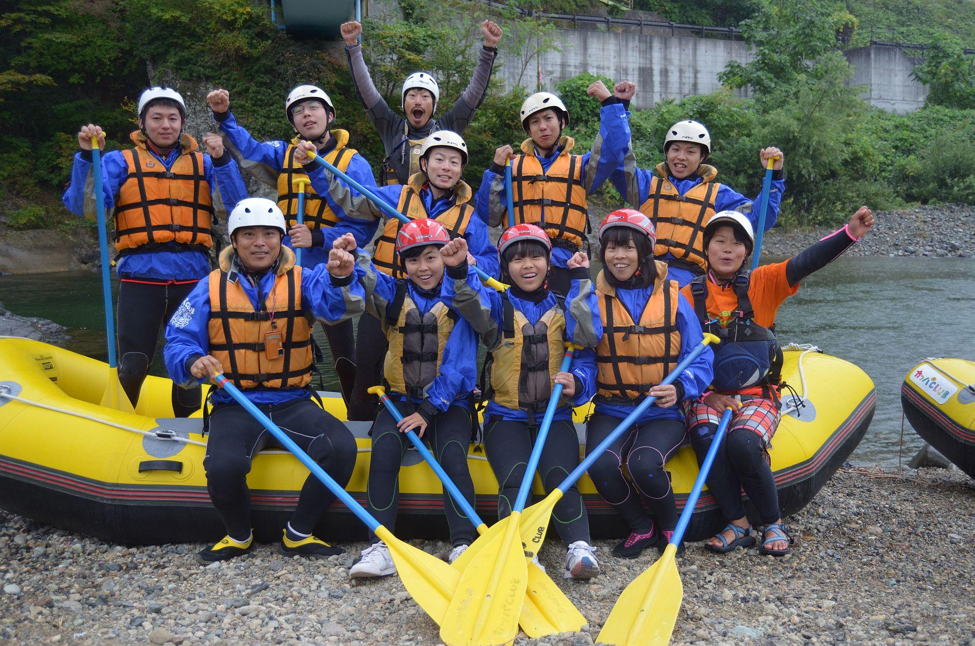 嵐の前に漕ぎ出せ元気よく!!10月13日(月)カッパCLUBツアー