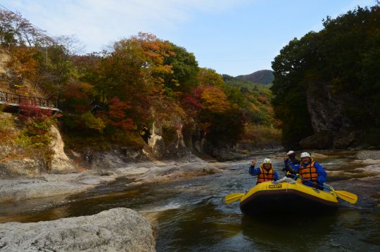 紅葉も最高よう!10月30日(金)カッパCLUBツアー