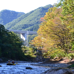秋晴れ最高~!!利根川を貸し切り!!