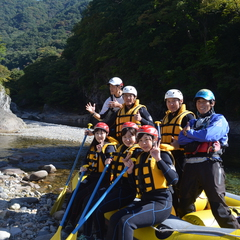 笑顔がいっぱい!利根川で遊ぼう!