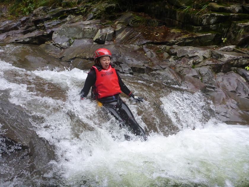 少しずつ足下に秋を感じ始めたハナゲの滝コースでした003