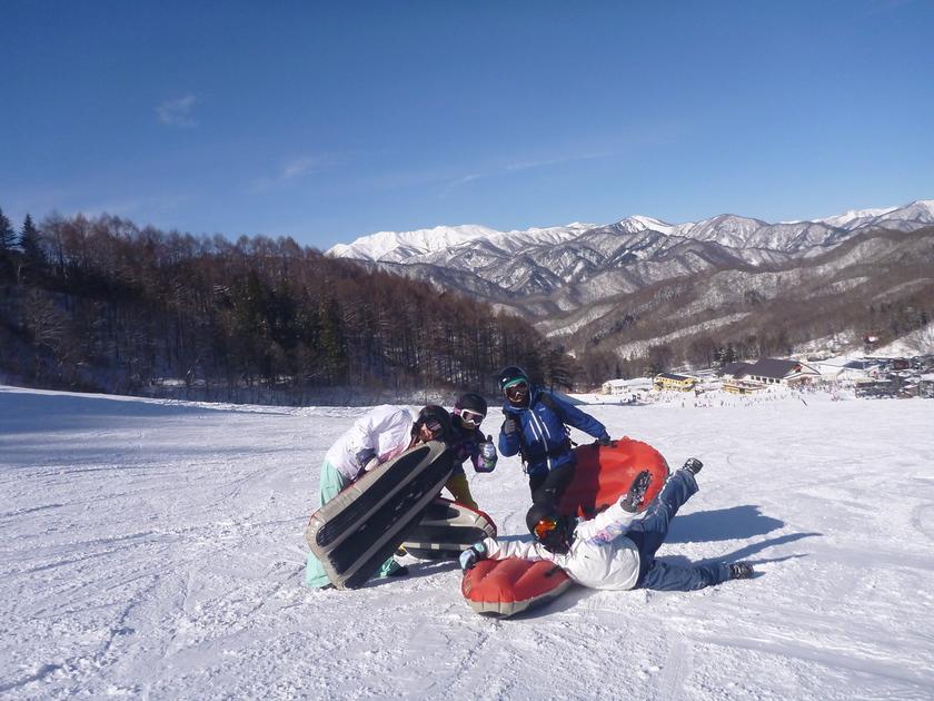 青空×雪×エアーボード=ハッピー!001