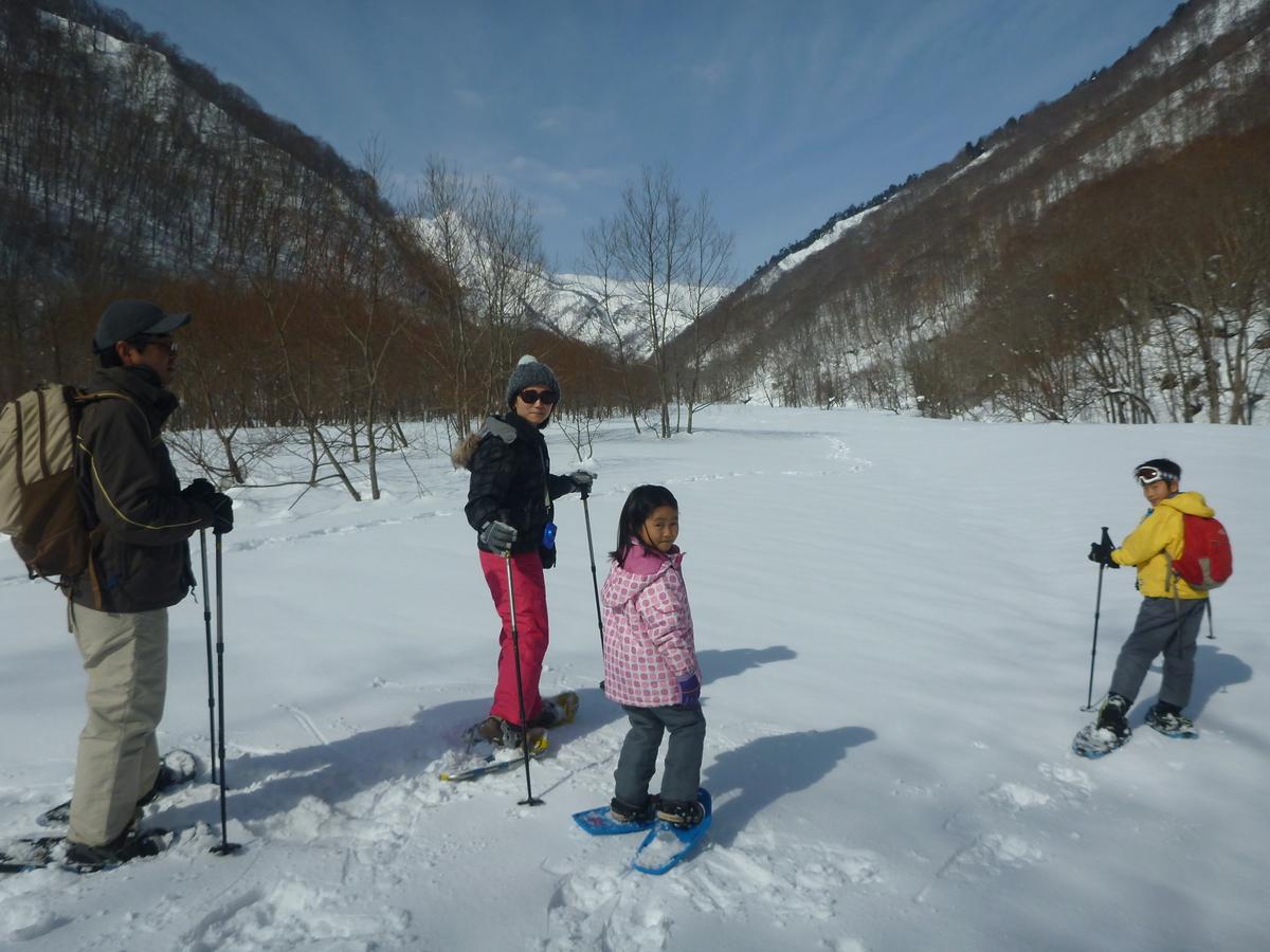 スノーシュー 山の景色を見ながら雪原をハイキング!!