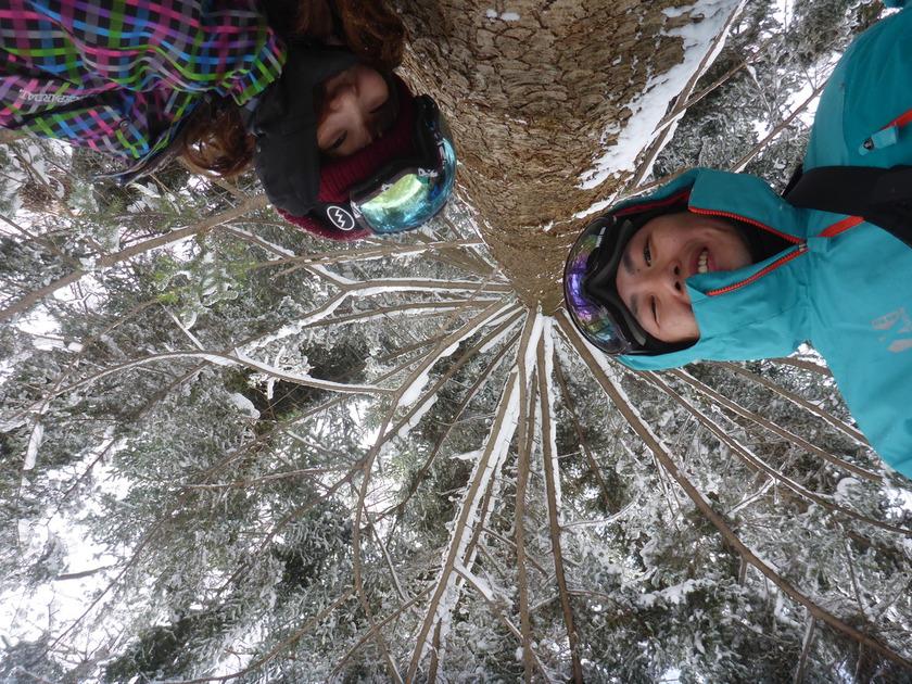 大雪でみなかみ町は大慌て でもスノーシューは楽しかった2月12日、日曜日001