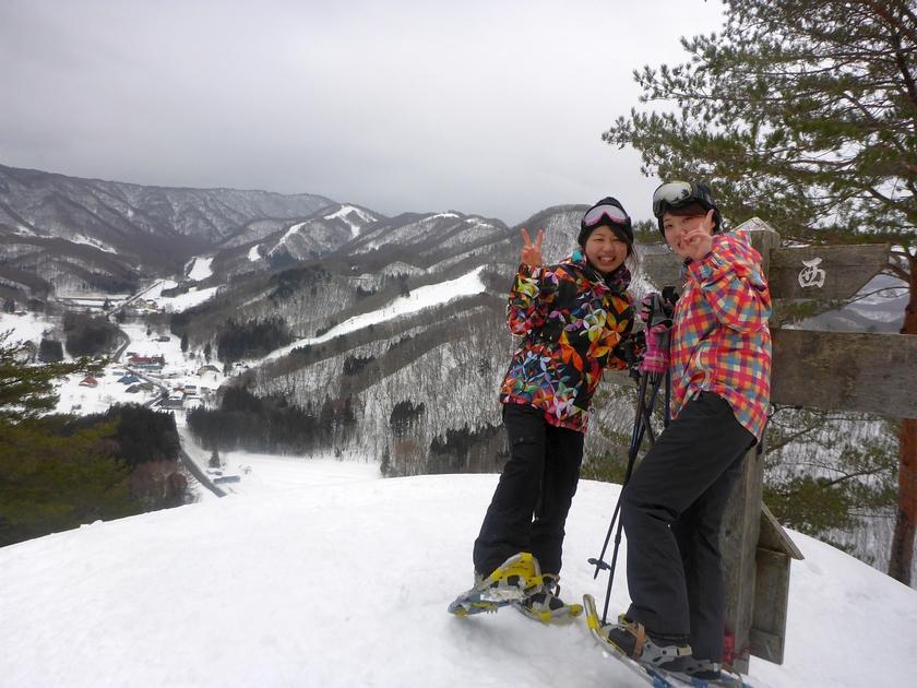 一日で二つの雪遊びを楽しみました002