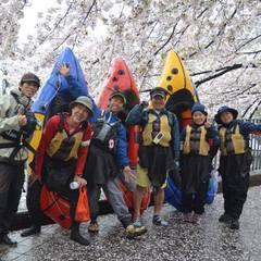 満開の桜を求めて!初☆横浜遠征お花見パックラフト