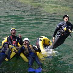 利根川で人魚になってみよう!!