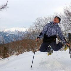 微笑みの国から雪国へスノーシュー