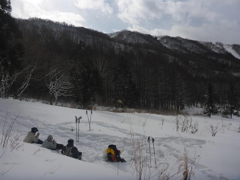 スノーシューを履いて、本気で雪とたわむれました!003