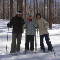 スノーシューを履いて、本気で雪とたわむれました!