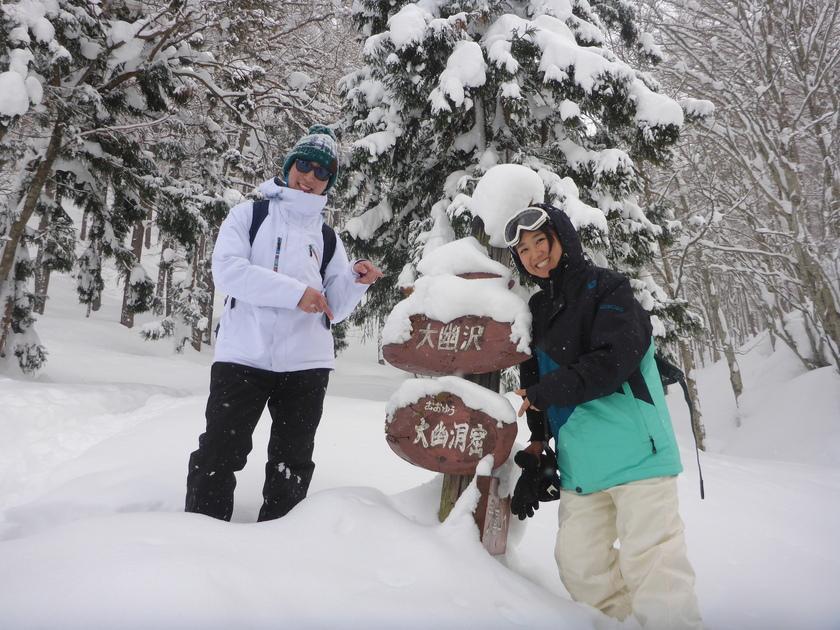 この冬初のスノーシュー1DAYツアー開催です\(^o^)/003