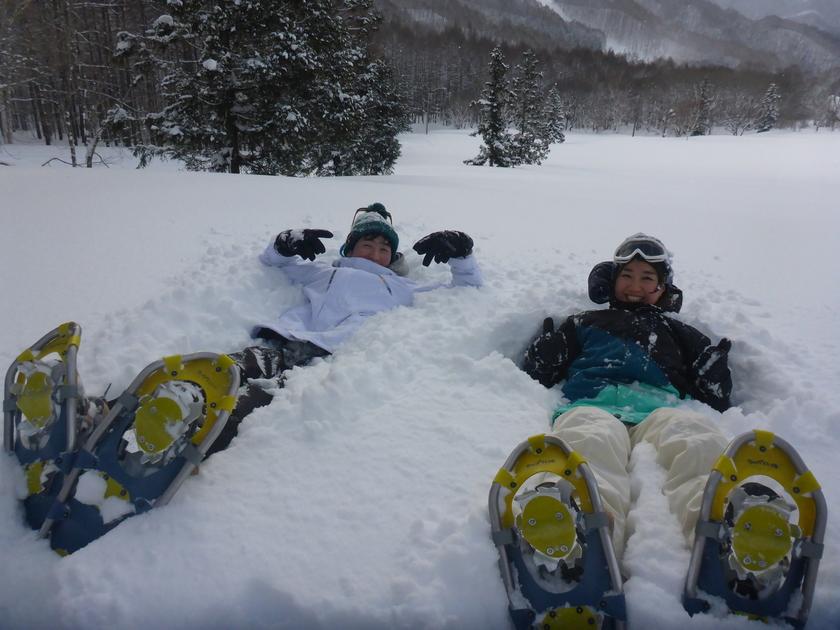 この冬初のスノーシュー1DAYツアー開催です\(^o^)/005