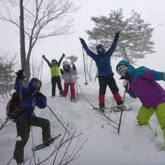 ラッセル♪ハッスル♪雪たっぷりスノーシュー1DAY