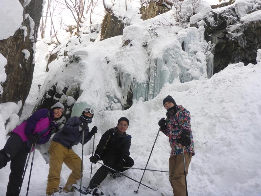 谷川岳一ノ倉沢の絶景スノーシュー002