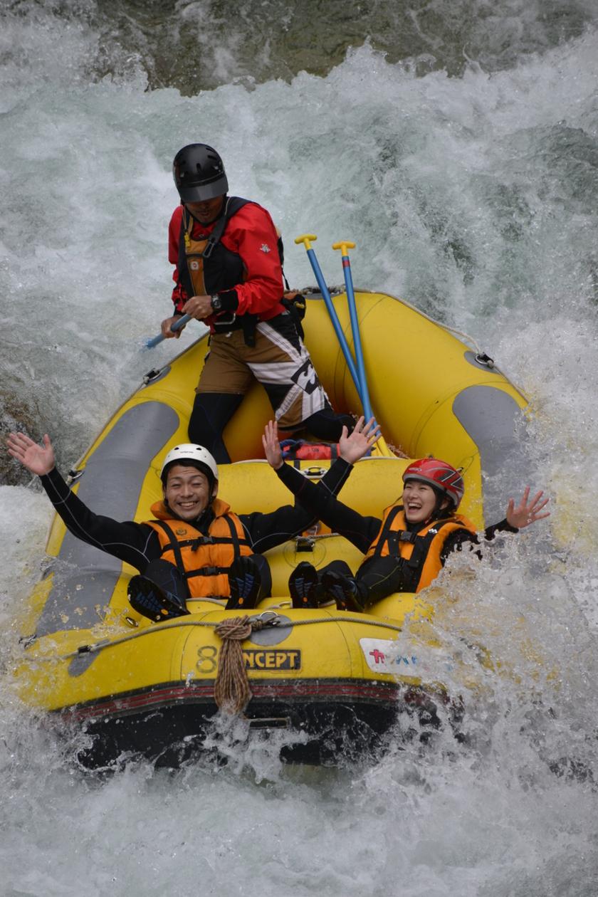 秋晴れの中、利根川を満喫ぅ~!005