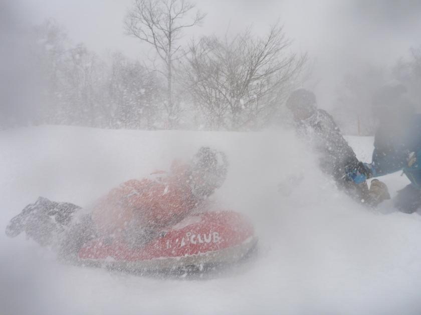 吹雪に負けるな!?男祭りのエアーボード半日コース!001