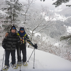 日本の冬はいかがでしたか?スノーシューで満喫の旅☆