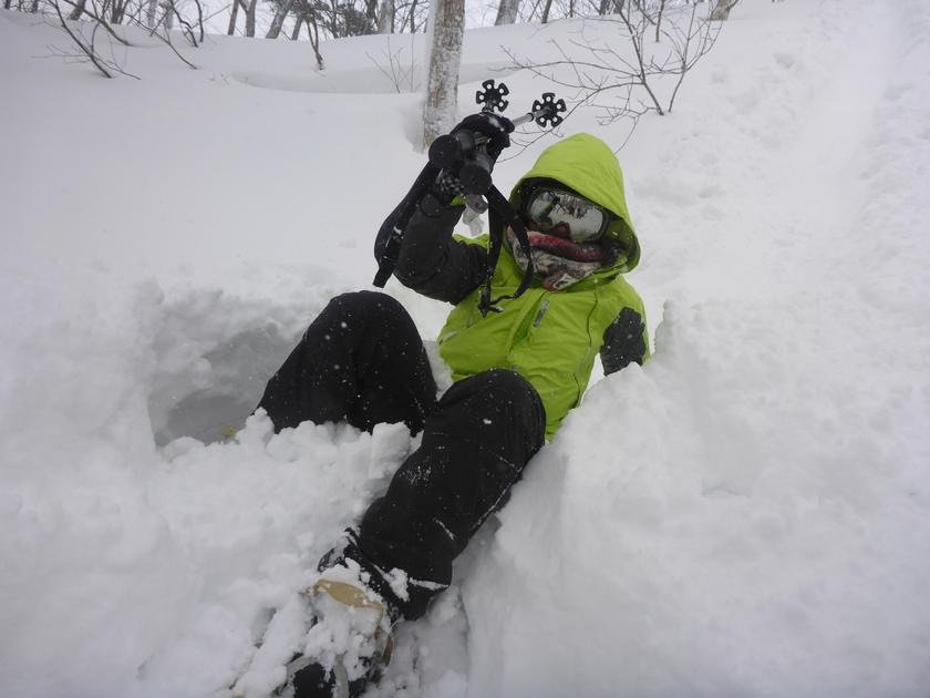 ラッセル♪ハッスル♪雪たっぷりスノーシュー1DAY003