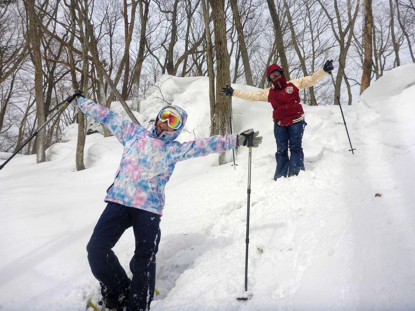 スノーシューで雪山を遊び尽くし!001