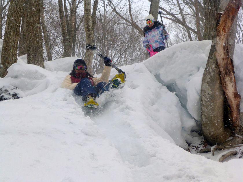 スノーシューで雪山を遊び尽くし!002