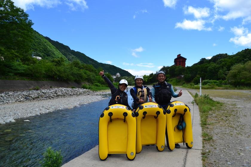 利根川の水透き通ってます!!001