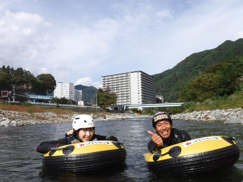 秋のハイドロスピード☆貸し切りツアー001