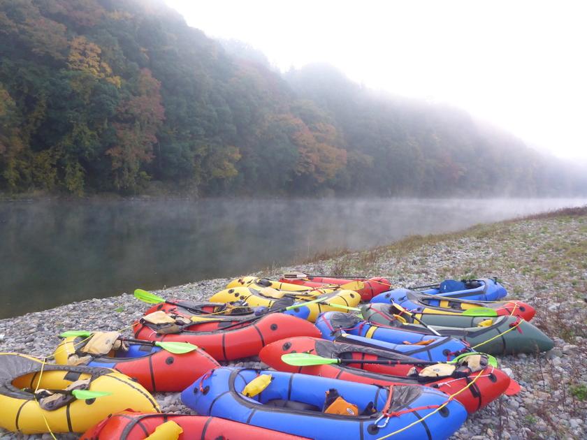 那珂川をパックラフトでキャンプツアー with   冒険小屋005