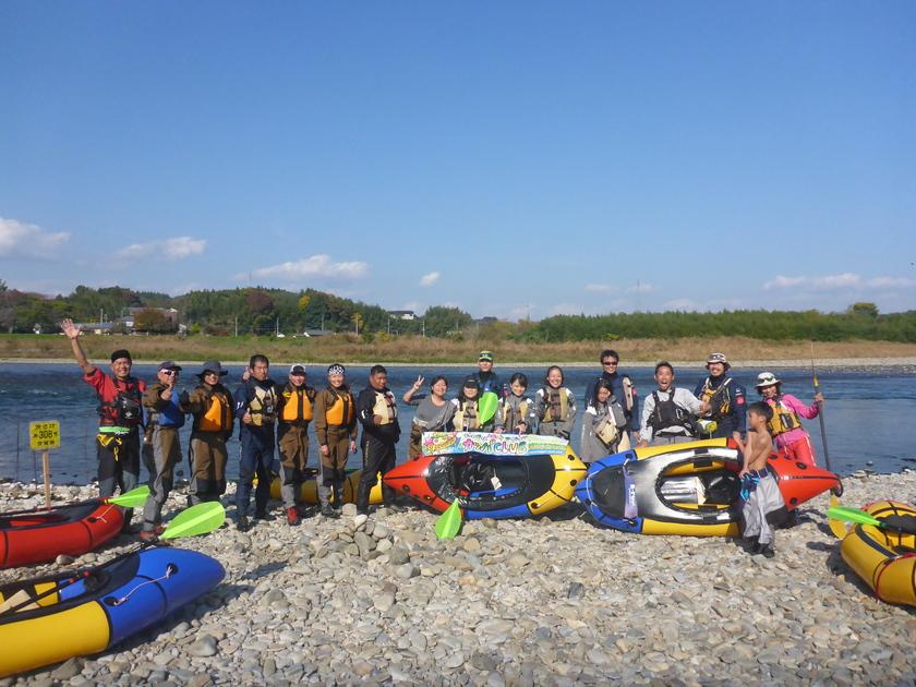 那珂川をパックラフトでキャンプツアー with   冒険小屋006