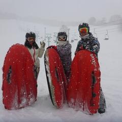 大雪わっしょい!!パウダー三昧のエアーボードツアー