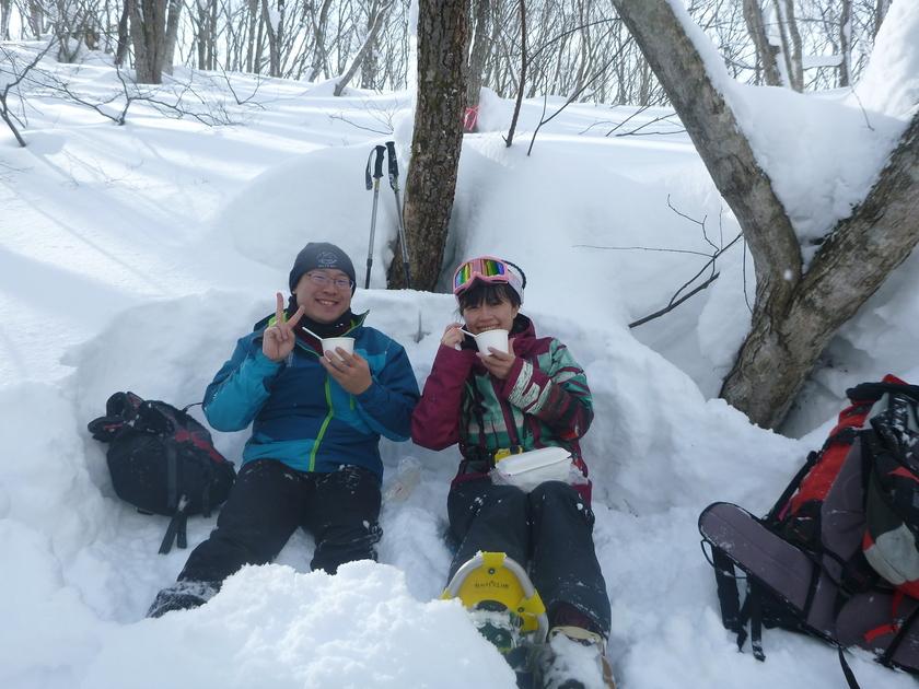 吹雪いたり晴れたり!遊んで食べて充実の1日コース!!004