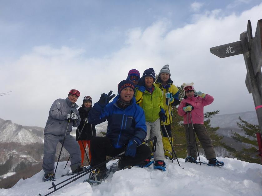 雪山を駆け回れ~!たっぷり遊んだスノーシュー半日コース001
