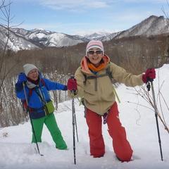 雪山散歩は大人が遊べる楽しさいっぱい!