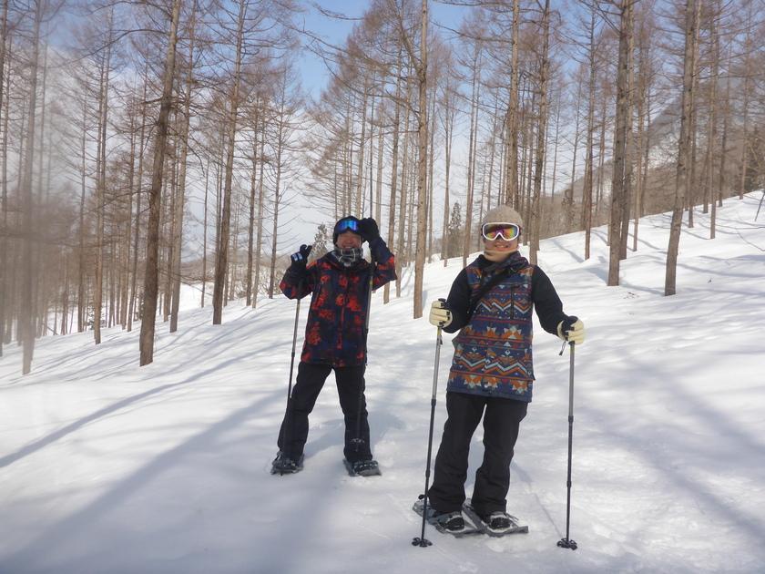 やっと行けた!この冬初の大幽コースで雪を満喫~♪001