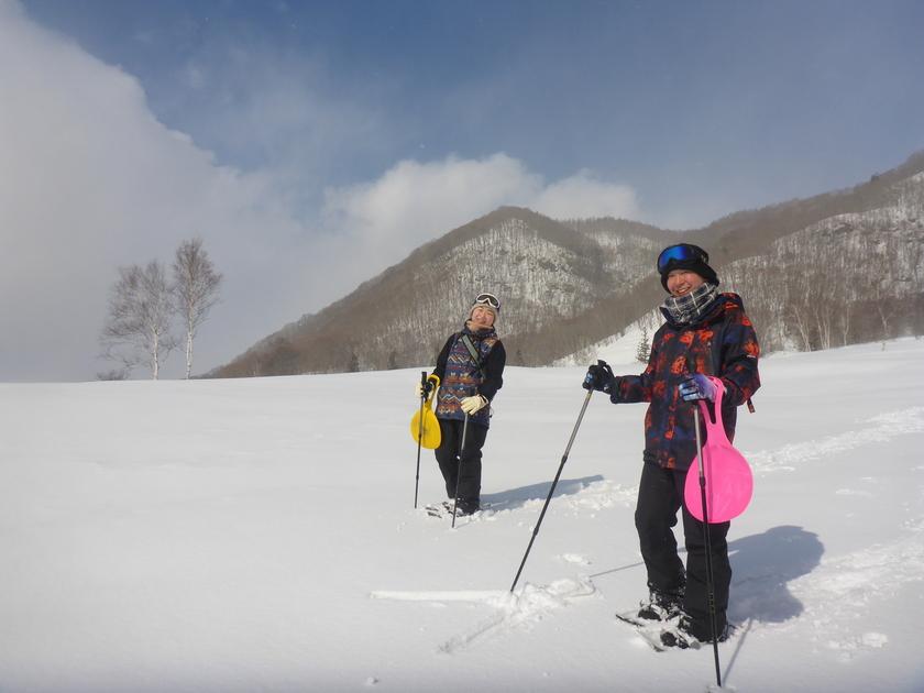 やっと行けた!この冬初の大幽コースで雪を満喫~♪003