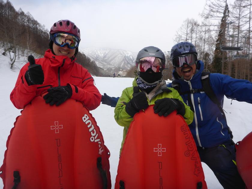 今日も明日も雪遊び!初日はエアボード貸し切り1日コース☆001