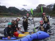 秋の川でもHOTにGO!!!