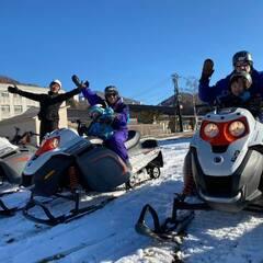 苗場スキー場スノーモービルいよいよ始動です!
