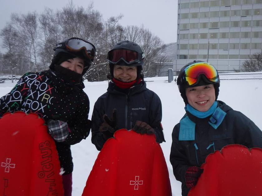 やっぱり冬はエアーボード!!001