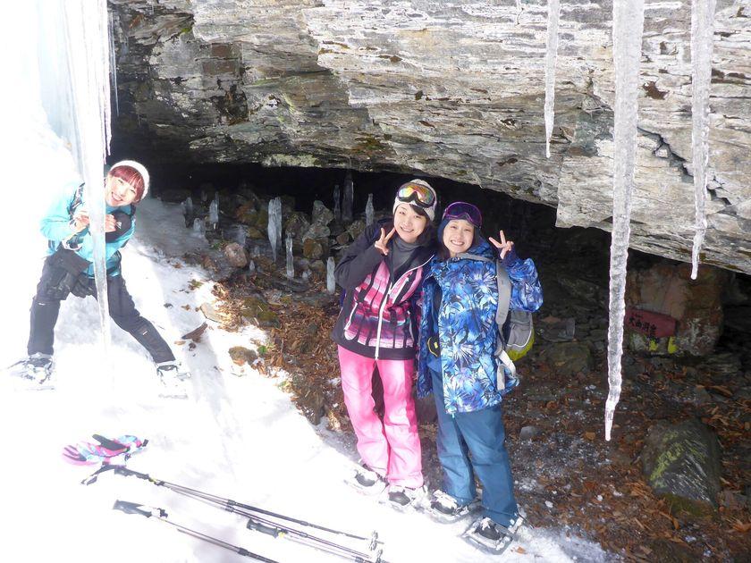 快晴のみなかみ町で雪上ハイキングを楽しもう!003