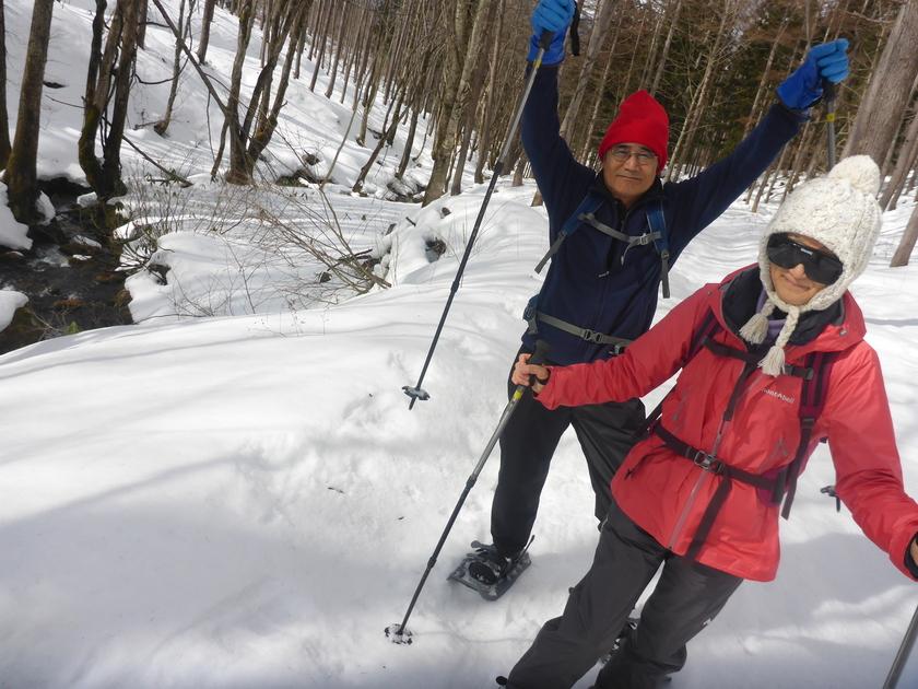 毎回新鮮な雪上ハイキング体験001