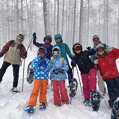大人も子どもも笑顔いっぱいの雪上ハイキング☆