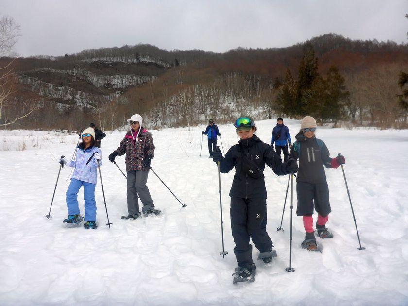 雪の上スイスイ歩けます001