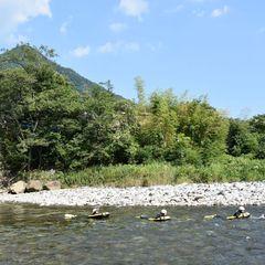 利根川と一体感♪