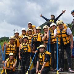 8月最終日もEnjoy Rafting !