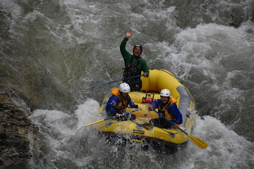 雨で増水!パワフル利根川!002