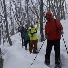スノーシューツアーで日本の雪景色を堪能!