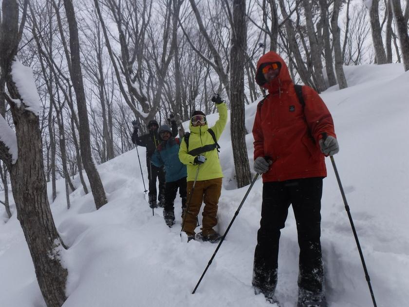 スノーシューツアーで日本の雪景色を堪能!001